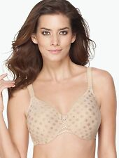 New WACOAL SPOT ON Underwire Full Figure Bra 855285 NUDE various sizes
