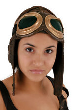 Aviator Bomber Pilot Hat Accessory (Brown)