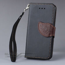 Leather Flip Credit Card Slot Wallet Handbag Stand For iPhone 5 5S 5C Case Cover