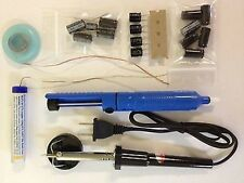 DELL LCD Monitor Complete Repair Kit w Solder Iron Instruction Capacitors NEW