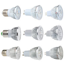 9W 12W 15W MR16 GU10 E27 LED Spot Light Down Lamp Warm Pure Cool White Bulb
