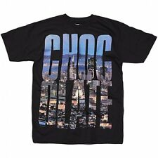 Chocolate Mens Big Chocolate T-Shirt in Black - Skateboard City Scape Tee