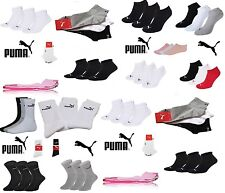 PUMA Sports Socks - Unisex free shipping Invisible / tennis 3 pairs