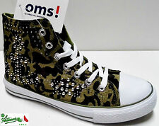 Scarpa sportiva donna ragazza mod. ALL STAR  tela gomma ORIGINAL MARINES 31259av