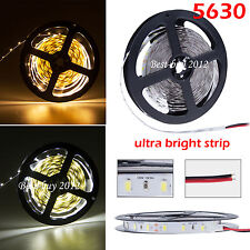 Super Bright 5630 300Led SMD Flexible Warm Cool White LED Fairy Strip Light 12V