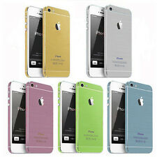 Full Body Sticker Decal Skin Wrap Colors for iPhone 5S 5 + Free Screen Protector