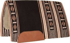 SALE Show Saddle Pad Blanket Horse 100% New Zealand Wool Rodeo Western Reining
