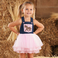 Cowgirl Overall Dress by Mud Pie