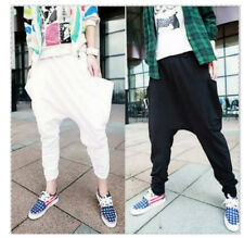 Fashion mens slim-type casual sport hiphop pants harem nine point pants