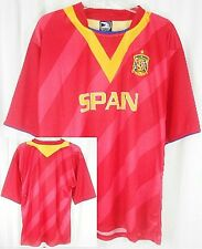 Spain Dri Fit Light Weight Men's Soccer Jersey Shirt Red Adult Large