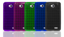 LG Optimus L70 (Metro PCS) TPU Silicone Gel Protective Phone Cover Case EM