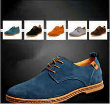 2014 NEW Fashion Suede European style leather Shoes Men's oxfords Casual 11 Size