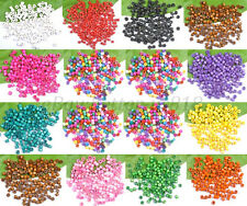 Wholesale 1000pcs Bead Wood Tube Spacer Beads 4X3MM Colors U PICK Jewelry Making