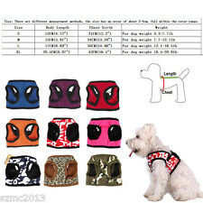 Any Size & Color - Dog Pet Puppy Vest Harness Summer Clothing -Teacup Toy Poodle