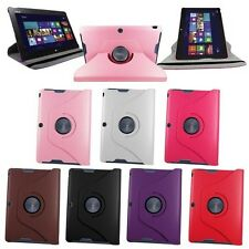 "360 Rotating PU Leather Stand Case Cover for ASUS MeMO Pad Smart 10 10.1""ME301T"
