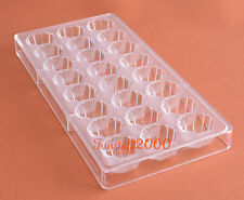 Chocolate Mould Polycarbonate Shell Scallop PC Mold Sugar Craft Heavy Duty Pan
