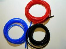 Silicone Vacuum Hose/Tube 1mm Thin wall Red Black or Blue Scooter Moped GY6 Hose