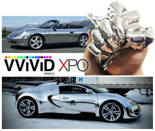 "VViViD Chrome CHR3M01 2ftx5ft (24""x60"") Vinyl Wrap Air Release Technology"