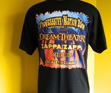 DREAM THEATER-CONCERT T-SHIRT-PROG. NATION 2009-NORTH AMERICAN TOUR - NEW