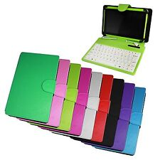 "HYPERTAB PU leather Keyboard case for 7"" Tablet Samsung Tab phone Note Galaxy PC"
