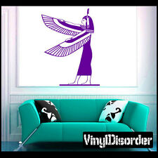 Maat Egyptian Vinyl Wall Decal or Car Sticker - MC63
