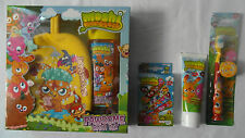MOSHI MONSTERS 4pk DENTAL/BODY CARE-Toothbrush Toothpaste  Plasters Shower Gel..