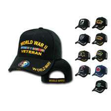 1 Dozen Veteran Vet POW US Military Baseball Hats Hat Cap Caps Wholesale Lot