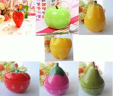 Lovely Vegetables Fruit shape  Timer Kitchen chef Count Down Timer  60 minutes