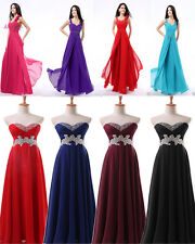 New Style Long Formal Prom Dresses Bridesmaid Evening Gowns Party Dress IN Stock