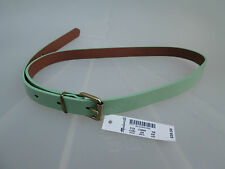 NWT Madewell New $39.50 Women Slim Patent leather Belt Size XS/S,M/L