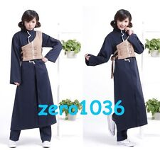 2014 New Anime Narutos Shippuuden Gaara Cosplay Party Costume blue full set