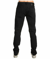 $169 Hudson Harper Black 5 Pocket Straight Stretch Twill Jeans Pants 28 29 x 32