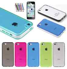 Colorful Heavy Duty Hybrid Rugged Hard Bumper Case Cover For iPhone 5C C
