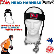 HEAVY DUTY, DAM GYM WEIGHT LIFTING HEAD NECK STRENGTH HARNESS STRAP UFC FITNESS
