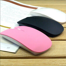 2.4G Slim USB Mini Wireless RF Optical Mouse Mice For Laptop PC Mac Macbook HP