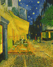 Van Gogh Cafe Terrace Place du Forum Arles Print High Quality Wall Art Picture