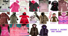 * NWT NEW GIRLS GOOD LAD SOPHINE ROSE BOW Fleece Jacket & Hat Set COAT 3T 4T 5 6