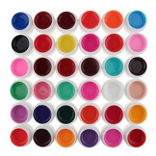 Nail Art Glitter Uv Gel Polish Soak Off Top Coat for Lamp Decoration 36 Color