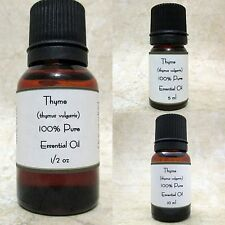 Thyme Pure Essential Oil  Buy 3 get 1 Free SEND MESSAGE W/FREE OIL