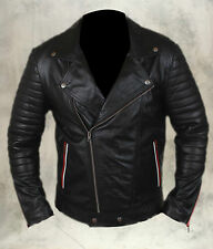 Ryan Gosling Blue Valentine Leather Ultimate Bomber Biker Motorcycle Jacket