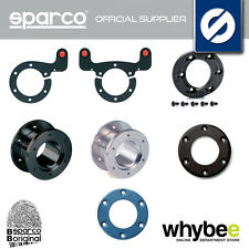 SPARCO STEERING WHEEL ACCESSORIES - HORN BUTTON / CENTRE CAPS / RINGS / BUTTONS