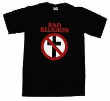 BAD RELIGION Crossbuster Logo OFFICIALLY LICENSED T-Shirt New S-XL