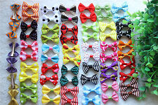 New Pet Hair Clips Cute Bowknot Small Clips Dog Hair Bows Pet Grooming Products