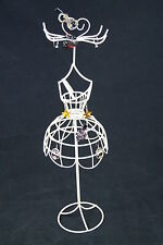 Mannequin Jewelry Stand Display Earrings Necklace Ring Ornament Holder