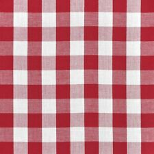 2 Checkered 21ft Polyester Table Skirts Gingham Buffalo Check 8ft Table Skirting