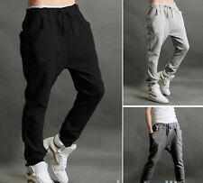 Men New Fashion Jogger Dance Sportwear Baggy Harem Pants Slacks Sweatpants Hot