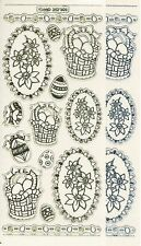 Stickers double embossage - Auto-collant - Pâques - Easter MD - 357101