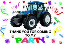 Tractor Thank You Stickers / Sticky Labels for Party Bags etc Ref TRAD108
