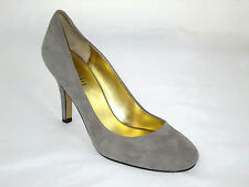 nine west gray ambitious heels 8.5m/10m retail $69