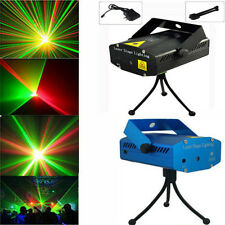Popular Mini Projector R&G DJ Disco Light Stage Xmas Party Laser Lighting Show